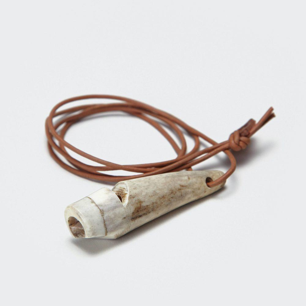 Hundefløyte Stag Horn håndlaget