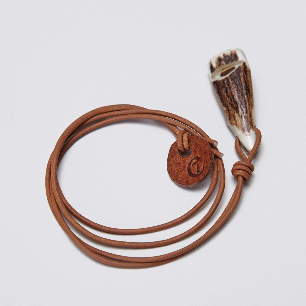Hundefløyte Stag Horn håndlaget 2