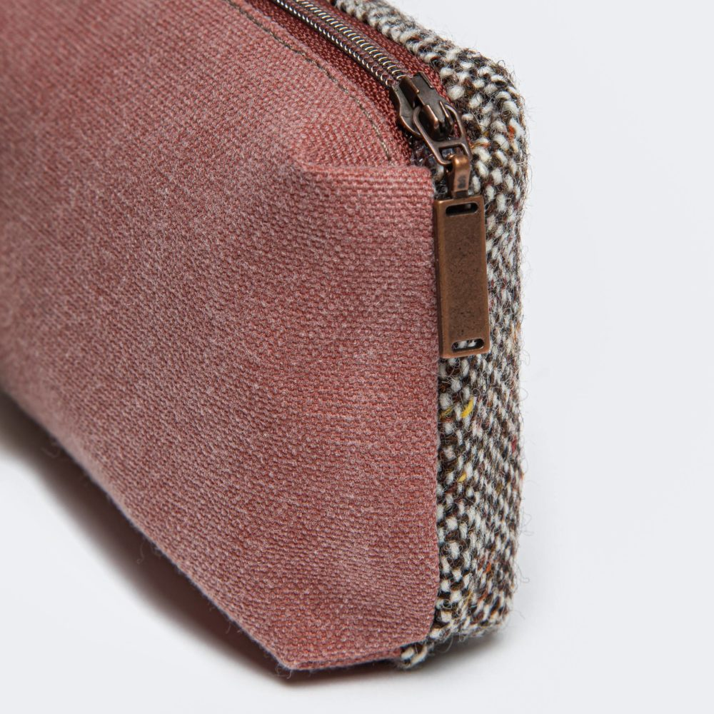 Liten veske Tweed Red Detalj