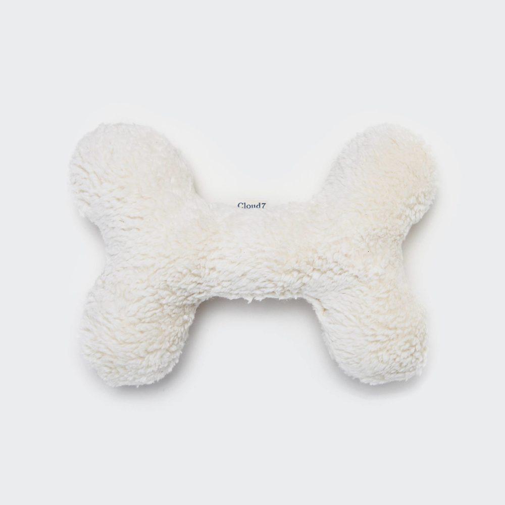 Love Bone Nature White Plush